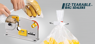 EZ-Tearable Bag Sealers