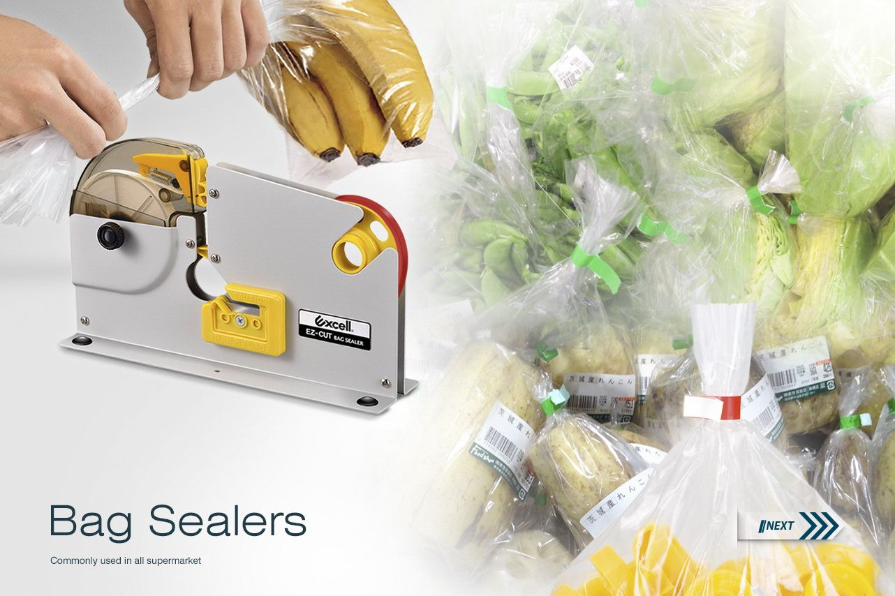 Excell Hand Held Bag Sealers Manufacturer