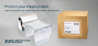 Label Protection Tape Dispensers - Protect Shipping Labels