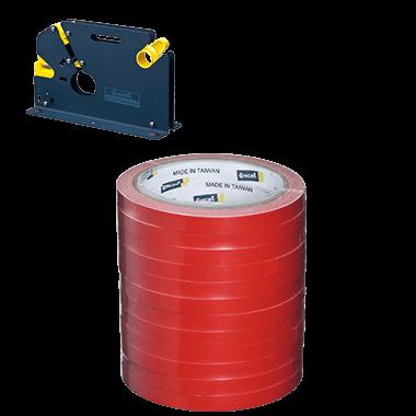 "BGSH-461250 (12mm wide, 3"" core bag sealing tape)"